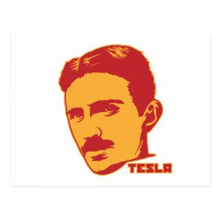Carte postale de portrait de Nikola Tesla