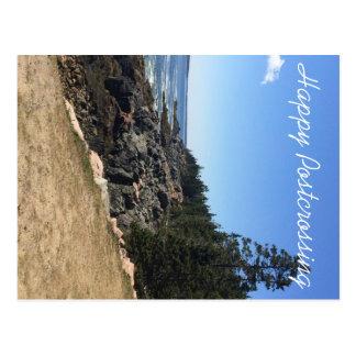Carte postale de Postcrossing de parc national