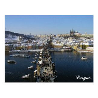 Carte postale de Prague