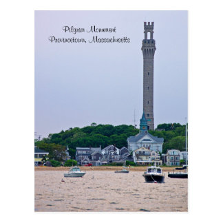 Carte postale de Provincetown mA de monument de