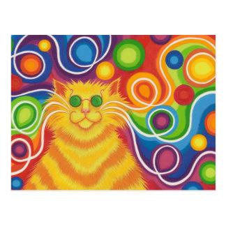 carte postale de Psy-chat-delic