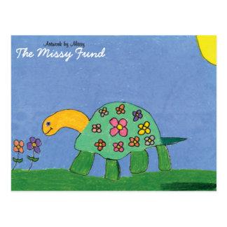 Carte postale de puissance de tortue