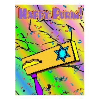 Carte postale de Purim