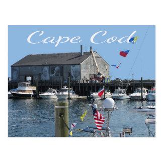 Carte postale de quai de Cape Cod Provincetown mA