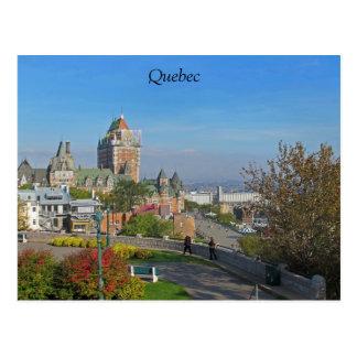 Carte postale de Québec