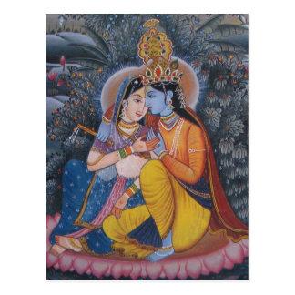 Carte postale de Radha Krishna