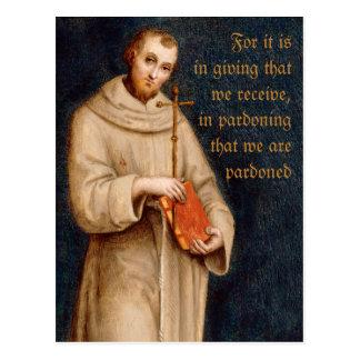 Carte postale de Raphael de la prière CC0731 de