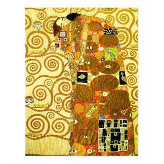 Carte postale de réalisation de Gustav Klimt