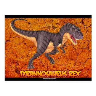 Carte postale de Rex de Tyrannosaurus