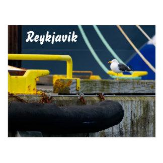 Carte postale de Reykjavik, Islande