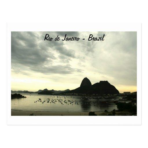 Carte postale de Rio de Janeiro