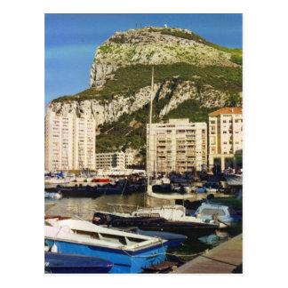 Carte postale de rocher de Gibraltar