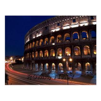 Carte postale de Roma, Italie