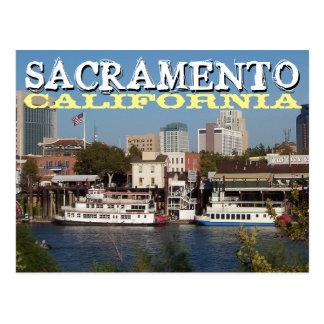 Carte postale de Sacramento la Californie