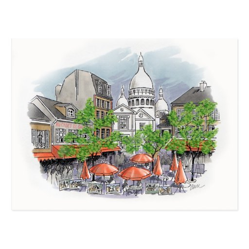 Carte postale de Sacre Coeur