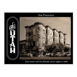 Carte postale de salle de l'Utah d'hôtel