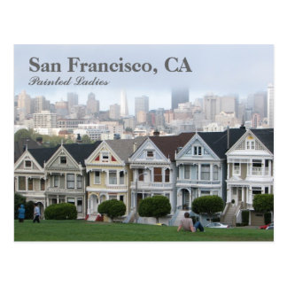 Carte postale de San Francisco !