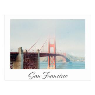 Carte postale de San Francisco golden gate bridge