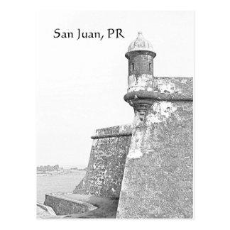 Carte postale de San Juan