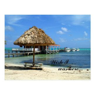 Carte postale de San Pedro, Belize