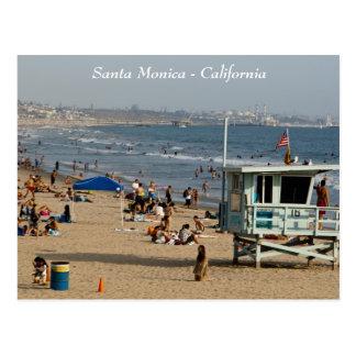 Carte postale de Santa Monica