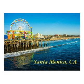 Carte postale de Santa Monica la Californie