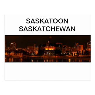 Carte postale de Saskatoon Saskatchewan