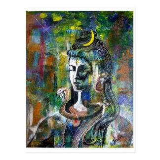 Carte postale de seigneur Shiva