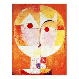 Carte postale de Senecio de Paul Klee