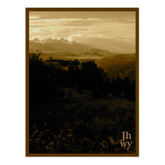 Carte postale de série de photo de Jackson Hole