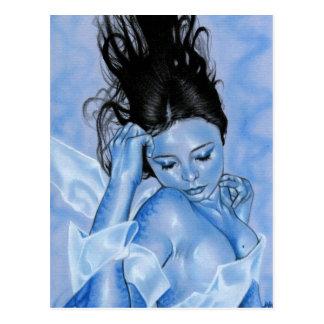 Carte postale de sirène de Thalassa