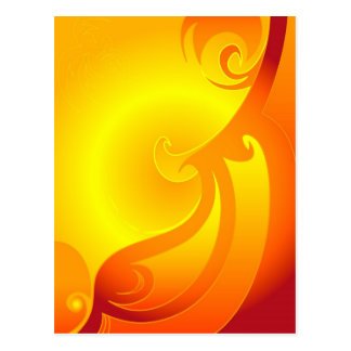 Carte postale de soleil