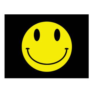 Carte postale de sourire