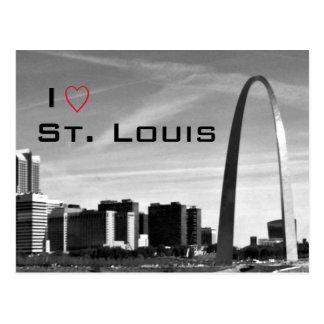 Carte postale de St Louis