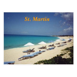 Carte postale de St Martin
