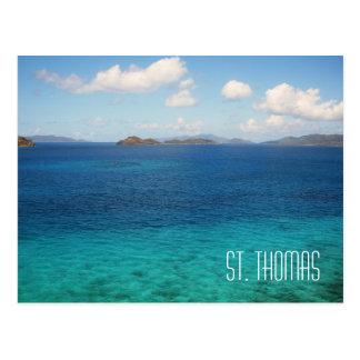 Carte postale de St Thomas Îles Vierges