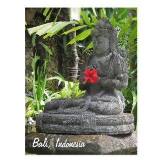 Carte postale de statue de Bali