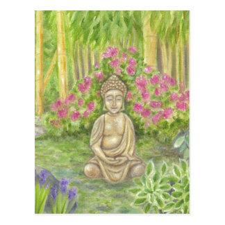 Carte postale de statue de Bouddha
