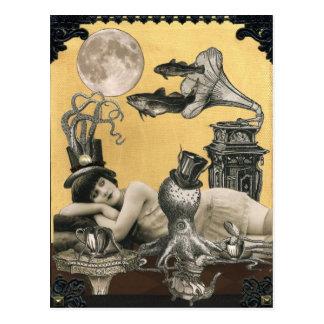 Carte postale de Steampunk de calypso