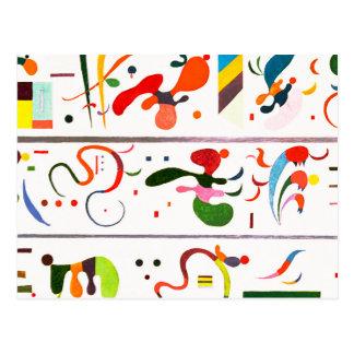 Carte postale de succession de Kandinsky