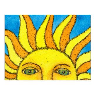 Carte postale de Sun d'été