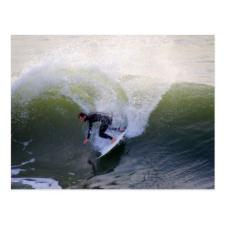Carte postale de surfer de la Californie