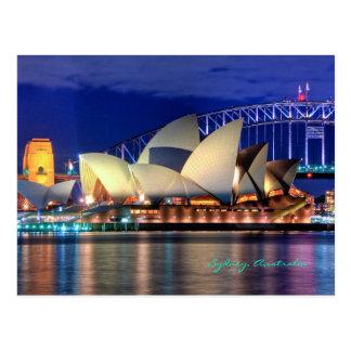 Carte postale de Sydney, Australie