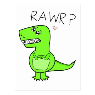 Carte postale de T-Rex