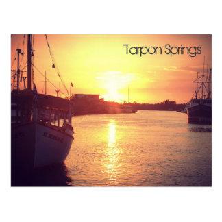 Carte postale de Tarpon Springs