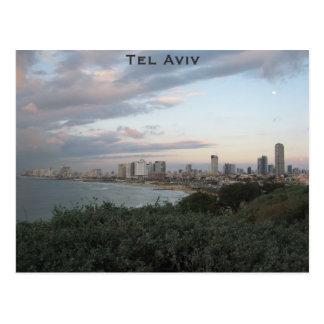 Carte postale de Tel Aviv