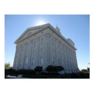 Carte postale de temple de Nauvoo LDS