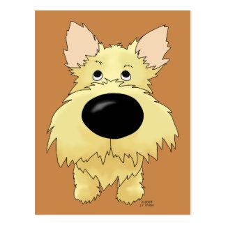 Carte postale de Terrier de cairn