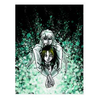 Carte postale de Tetsu et de Tadashi