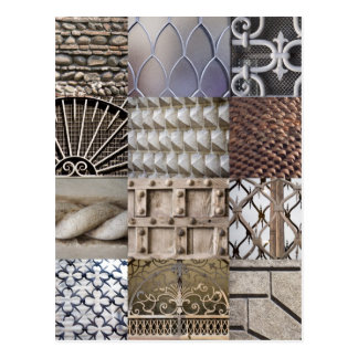 Carte postale de texture de Vérone